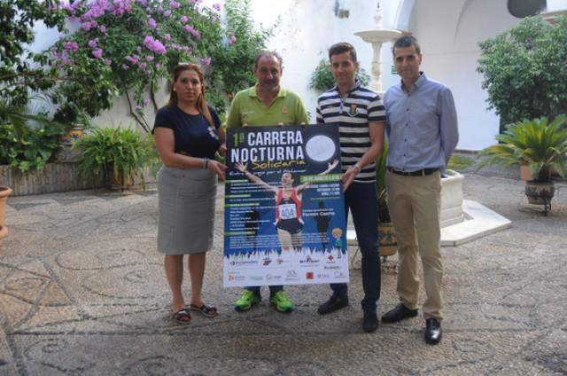 La Diputación colabora en la I Carrera Nocturna Solidaria 'Entra en juego por el alzheimer'