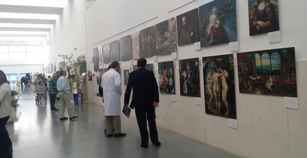 El Hospital de Montilla acoge en su vestíbulo la exposición 'Arte y Medicina' hasta el 4 de noviembre