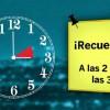 En la madrugada del sábado al domingo se producirá el cambio horario adelantando los relojes una hora