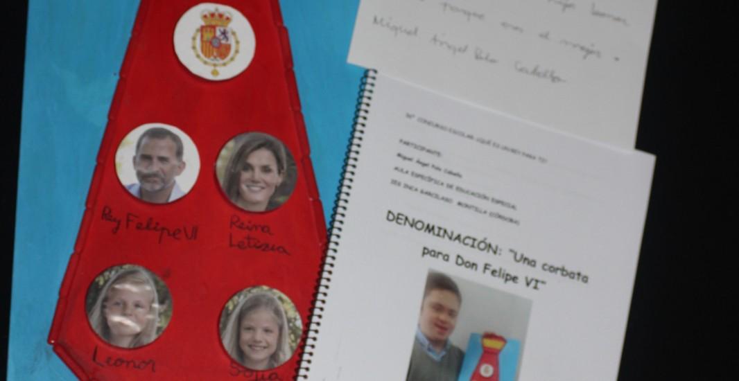 El montillano Miguel Ángel Polo ha ganado en la categoría nacional de Educación Especial el concurso ¿Qué es un Rey para ti?