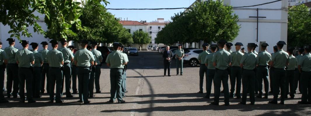 La Comandancia de Córdoba se refuerza con 34 nuevos Guardias Civiles en prácticas