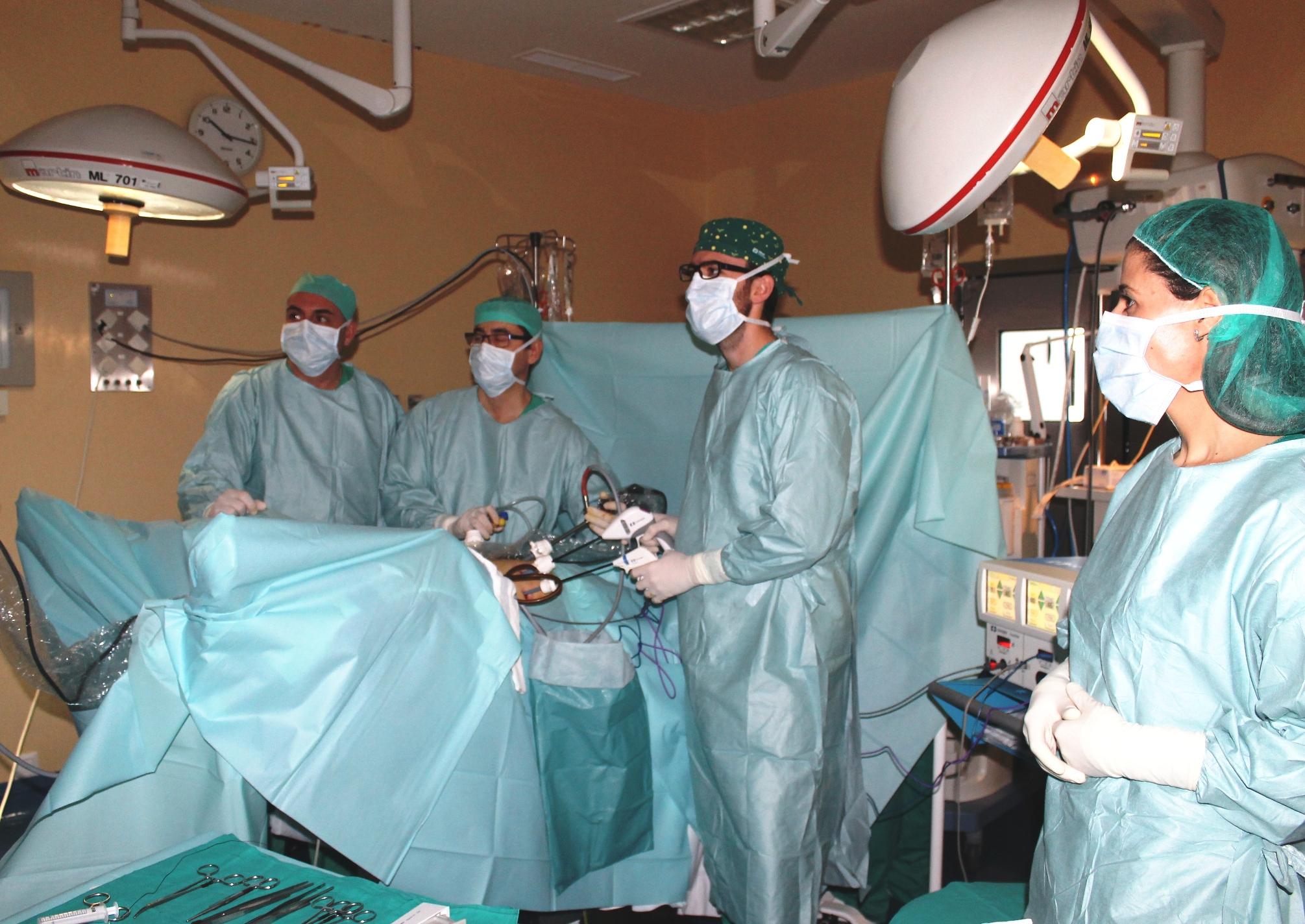 Quirófano Hospital de Montilla