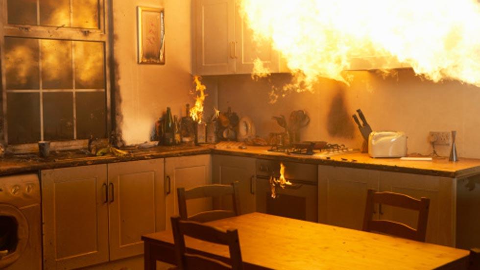 incendio domestico