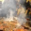 La 'Candelá' de San Sebastián vuelve al Llanete de la Cruz