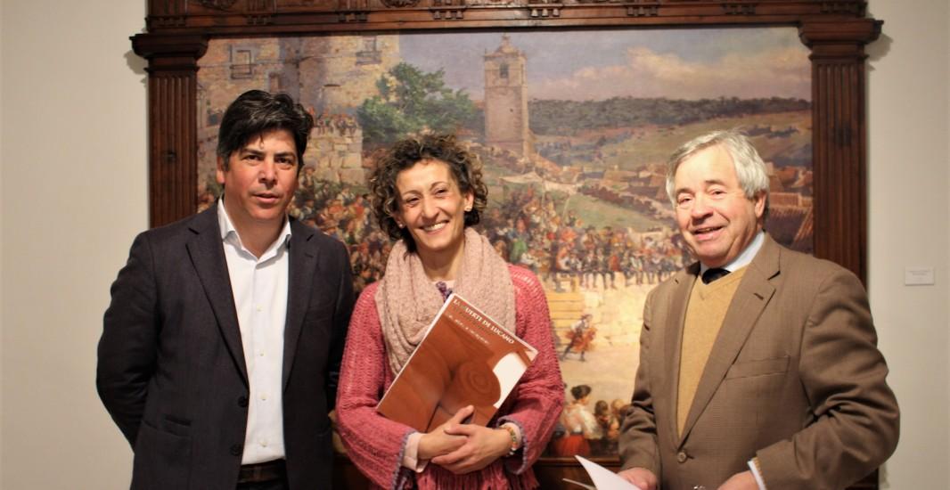 """Comienza la restauración de """"La muerte de Lucano"""" para que la obra de José Garnelo vuelva a la ciudad que le vio crecer"""