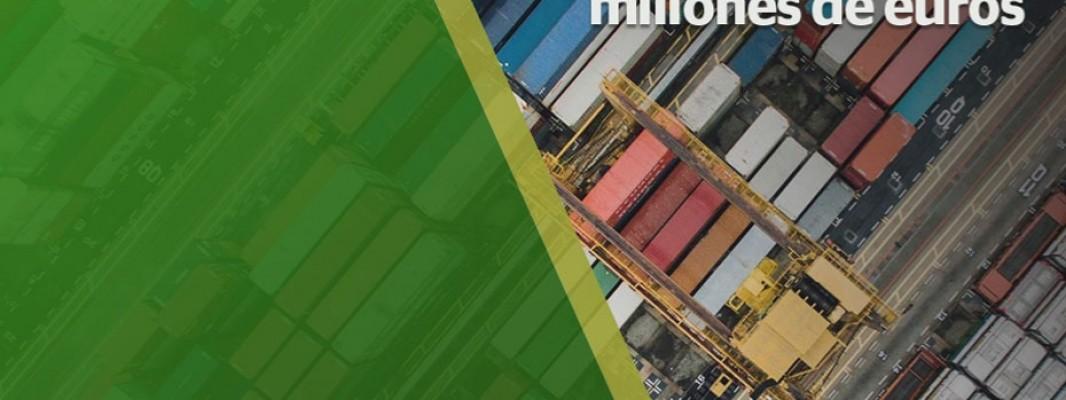Las exportaciones andaluzas consiguen un récord histórico, llegando casi a los 31.000 millones de euros en 2017