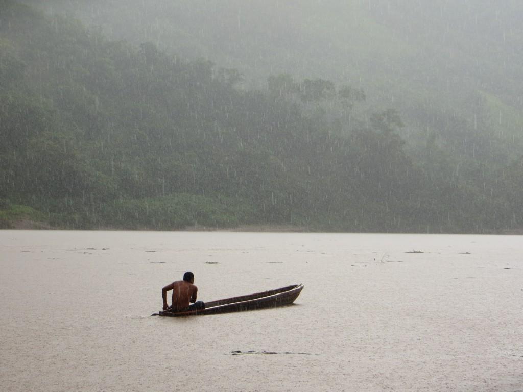 Foto:  Autor - Ismael Reinoso.  Río Huallaga, San Martín (Perú, 2014)