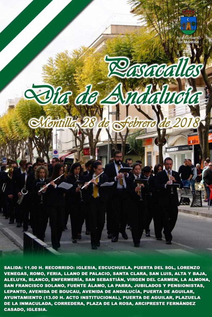 pasacalles Dia Andalucía