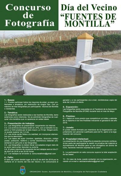 Las fuentes de Montilla, las musas de los fotógrafos del municipio
