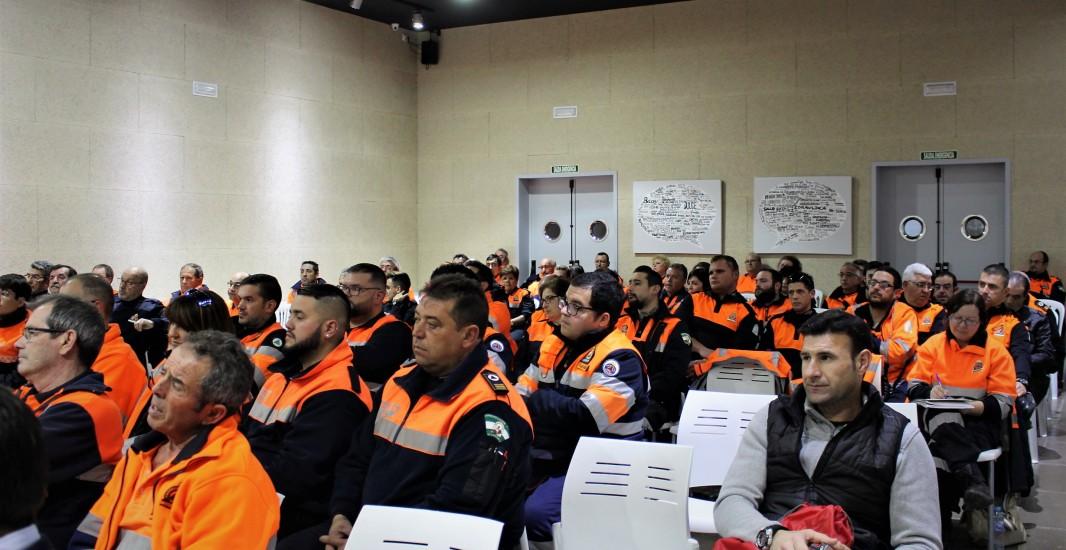 Envidarte acoge la jornada de clausura del Programa Provincial de Fomento y Formación del Voluntariado de Protección Civil