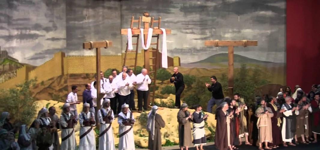 La Pasión, una majestuosa dramatización de la vida de Cristo