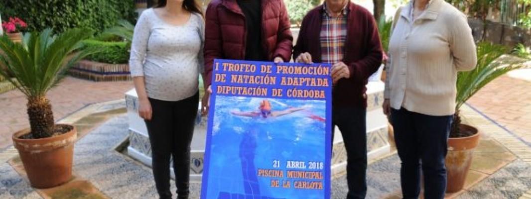 La Carlota celebra mañana el I Trofeo de Natación Adaptada de la provincia