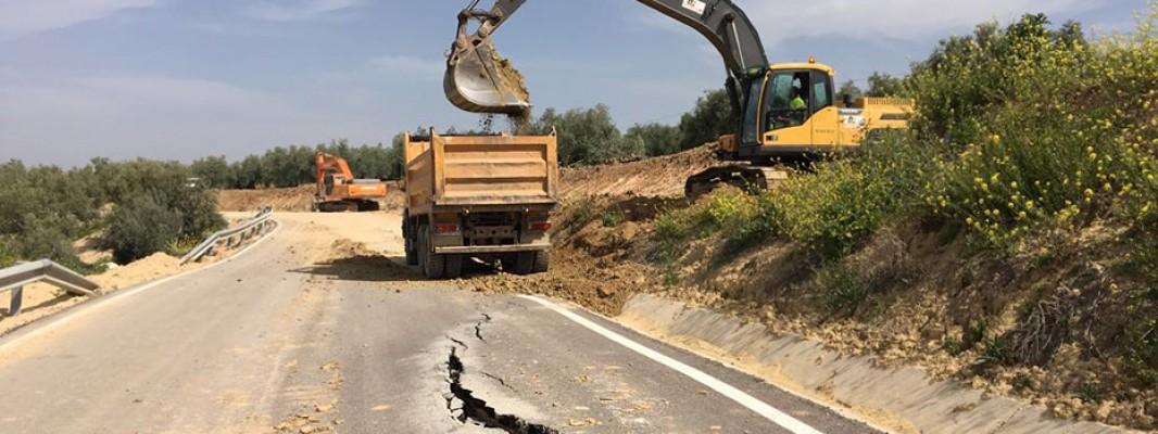 Adjudicadas por 5 millones obras en carreteras para reparar los daños del temporal