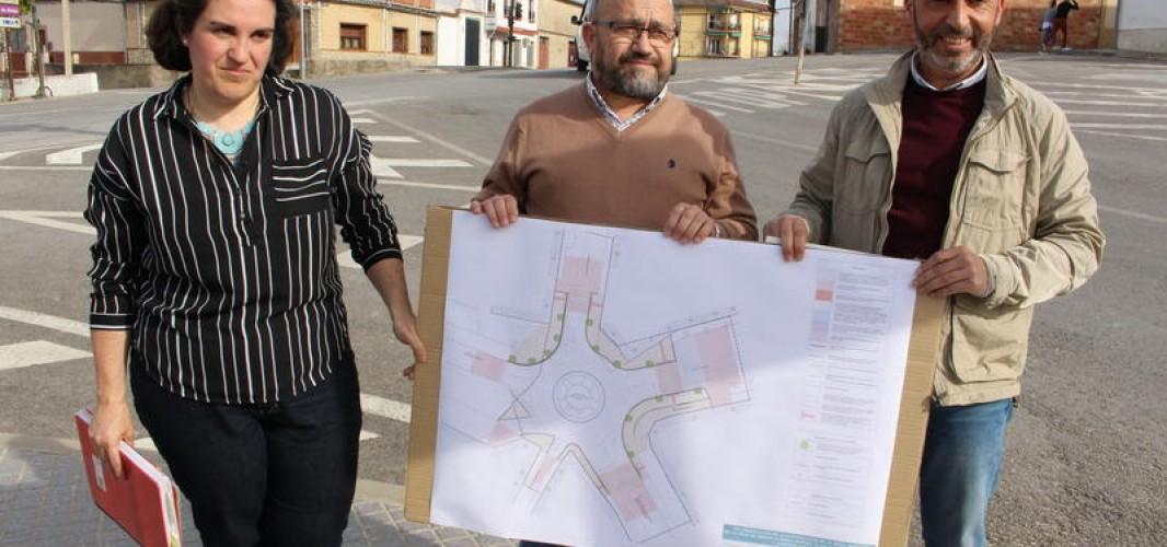 Seis empresas para solucionar los problemas de tráfico de la glorieta en el cruce de Santo Domingo