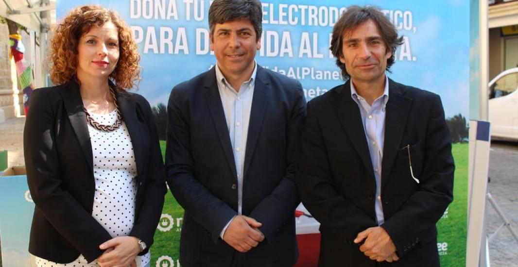 La campaña 'Dona vida al Planeta' llega a Montilla para concienciar sobre el reciclaje de residuos de aparatos eléctricos y electrónicos