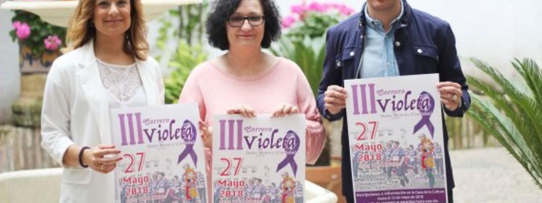 La III Carrera Violeta 'Doña Mencía' prevé la participación de más de 300 mujeres