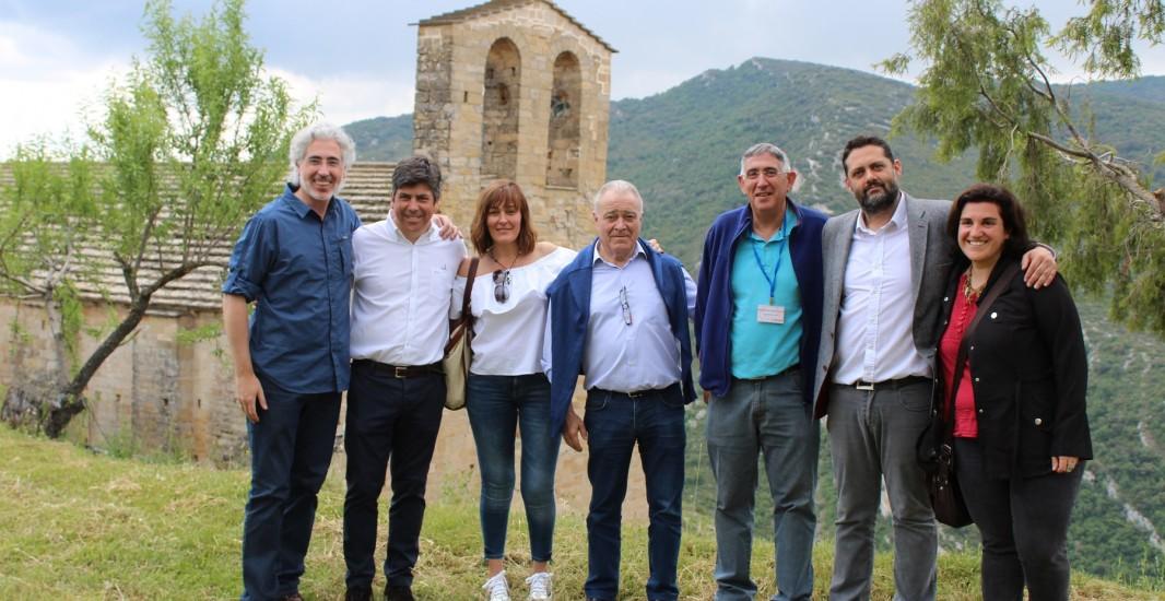 Montilla y La Puebla de Castro estrechan lazos gracias a la reliquia de San Francisco Solano