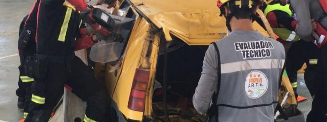Los bomberos cordobeses vuelven a destacar en el Campeonato de España de Rescate en Accidentes de Tráfico