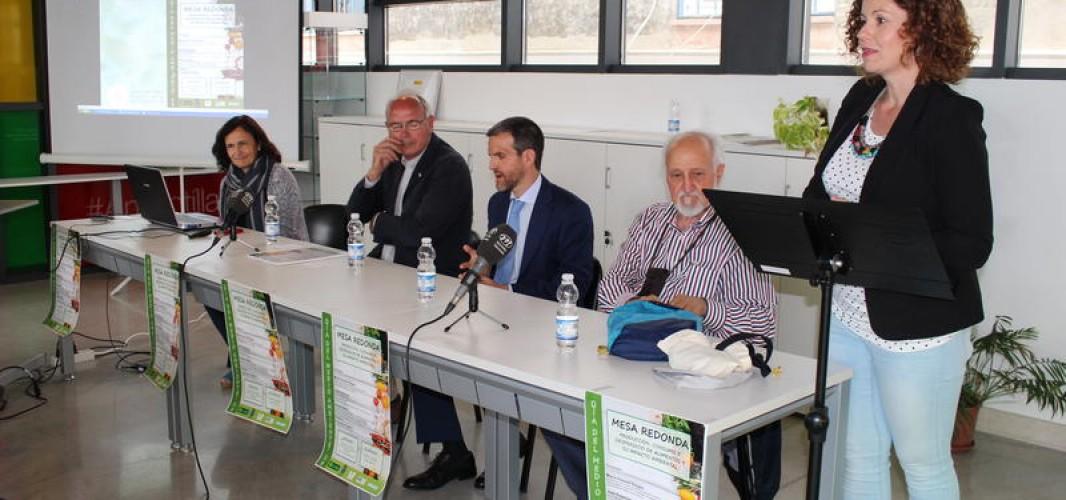 Celebración del Día del Medio Ambiente con una mesa redonda sobre producción, consumo y desperdicio de alimentos
