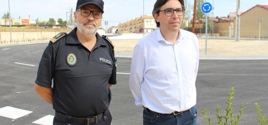 Finalizadas las obras de la rotonda de La Toba y la Avenida de Málaga