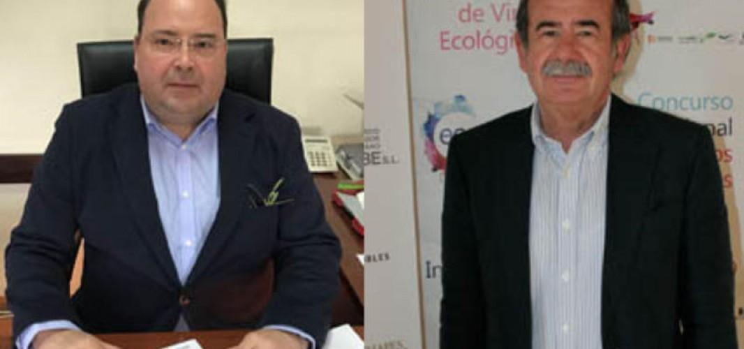 Miguel Cruz Marqués y Fernando Fernández Cuenca, Capataces de Campo y Bodega de la LXIII Fiesta de la Vendimia Montilla-Moriles