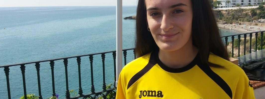 La montillana Lucía del Arco Calderón Ruz es fichada por el Club Atletismo Nerja