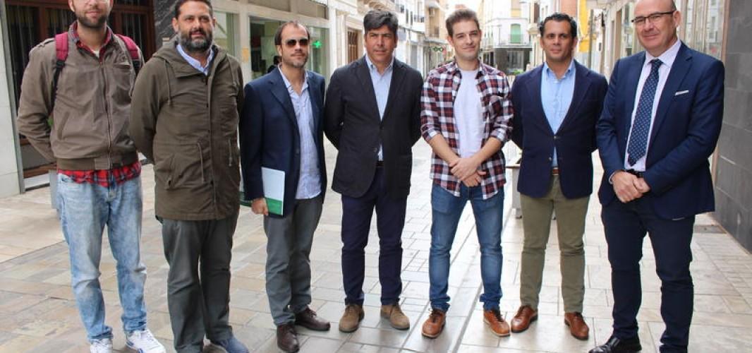 El Director General de Comercio conoce de primera mano las demandas del Centro Comercial Abierto de Montilla