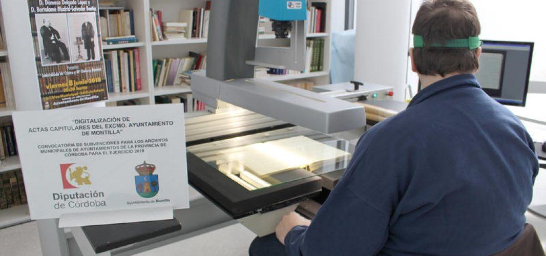 Concluye la digitalización de las Actas Capitulares que custodia el Archivo de Montilla
