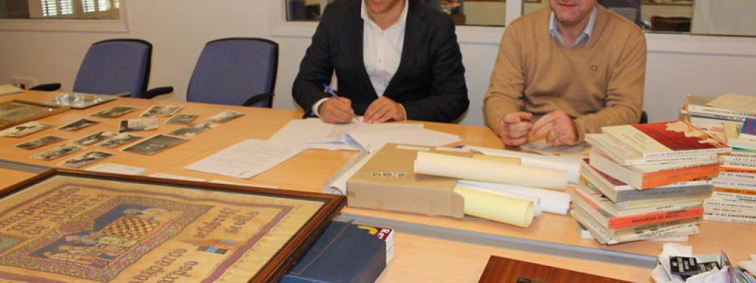 La Fundación Biblioteca Manuel Ruiz Luque recibe la donación de material y documentación ajedrecística que perteneció a Rafael Mesa