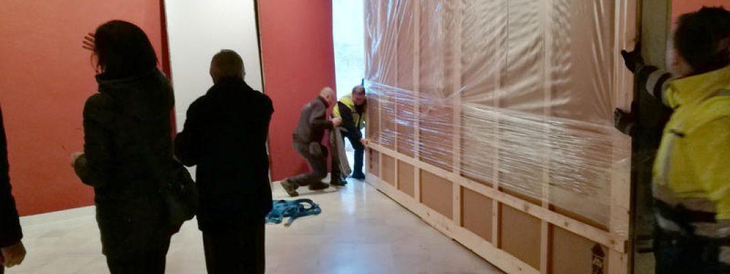 """El cuadro """"La Muerte de Lucano"""" ya está en el Museo Garnelo"""
