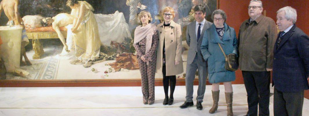 """""""La Muerte de Lucano"""" ya se puede contemplar en el Museo Garnelo"""