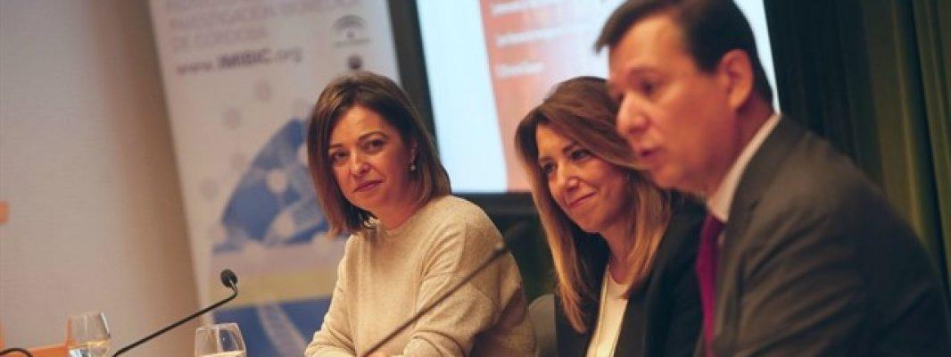 Susana Díaz apuesta por un sistema de investigación potente para blindar la sanidad pública