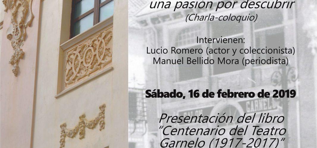 Programa de actividades en el Teatro Garnelo