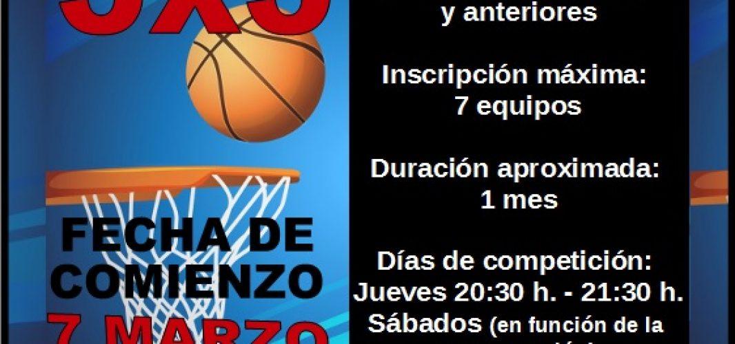 II Liga de Invierno de Baloncesto 3×3