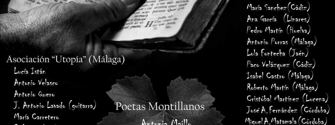 """I Festival Poético """"Pámpanas de Poesía"""""""