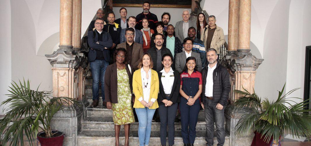 Tres técnicos sudamericanos socios de la FSU participan en las pasantías de la Diputación de Córdoba