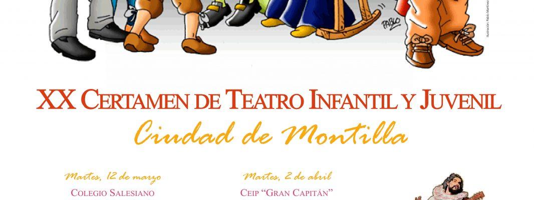 """XX Certamen de Teatro Infantil y Juvenil """"Ciudad de Montilla""""."""