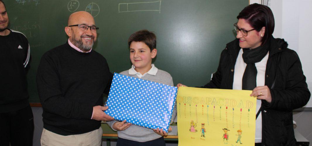 """José Delgado ganador del premio """"Ponte en mi lugar"""""""