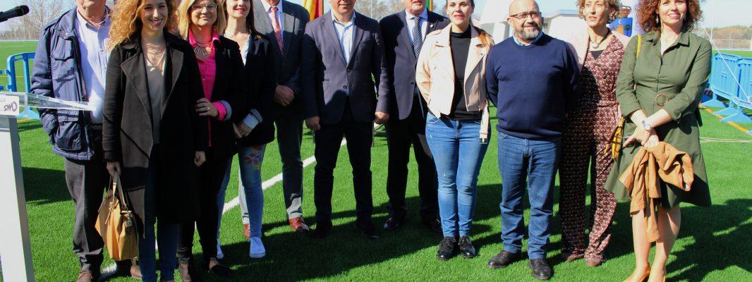 El I meeting Ciudad de Montilla pone en funcionamiento de forma oficial la nueva pista de atletismo y campo de fútbol