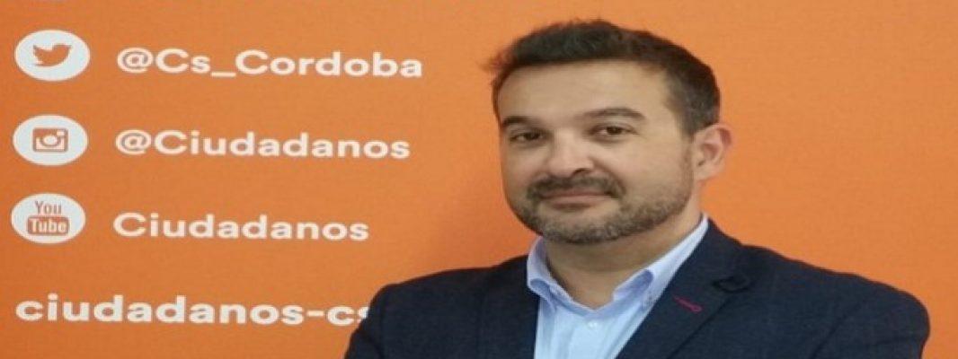 Marcial Gómez, candidato de C's por Córdoba a las Cortes Generales