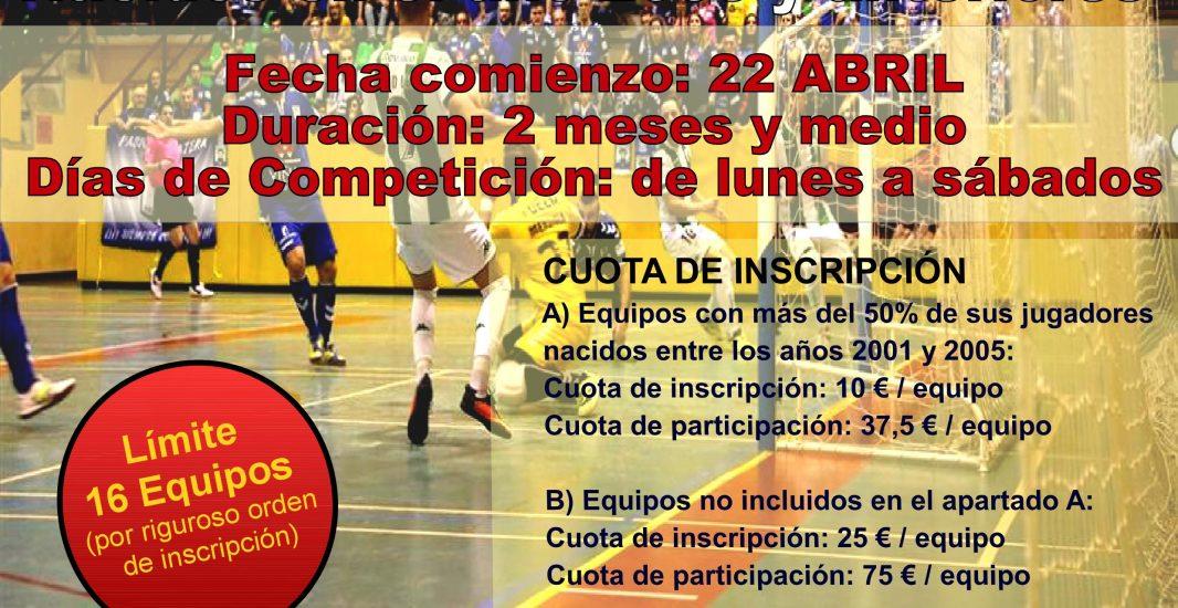 XXXII Campeonato Fútbol Sala
