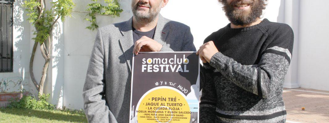 El Soma Club Festival unirá música, patrimonio, vino y cultura en la Casa de las Aguas y Casa del Inca Garcilaso