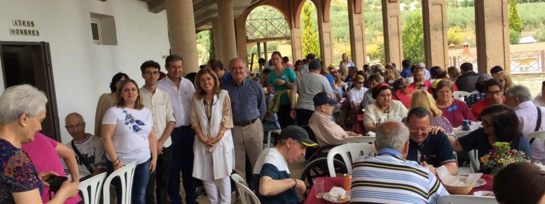 La Delegada de Salud y Familias asiste a las IX Jornadas de Convivencia de los dispositivos de Salud Mental del Área Sanitaria Sur de Córdoba y Faisem
