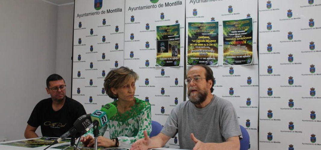 El cine y la música protagonizan las actividades culturales en Montilla para el verano 2019