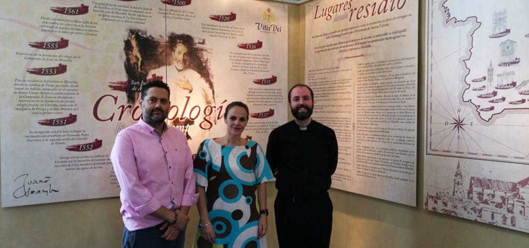 "Montilla inaugura la ruta turística ""Vitis Dei"" entorno a la figura de San Juan de Ávila en su Año Jubilar"