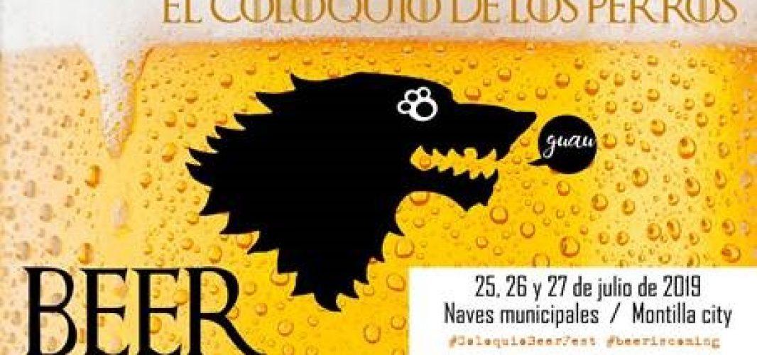 """La XVIII Cata de cerveza """"El coloquio de los perros"""" llega a Montilla"""