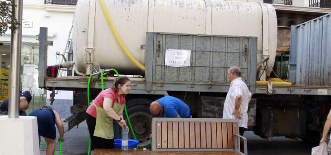 Aguas de Montilla hace públicos los horarios para los puntos de toma de agua itinerantes