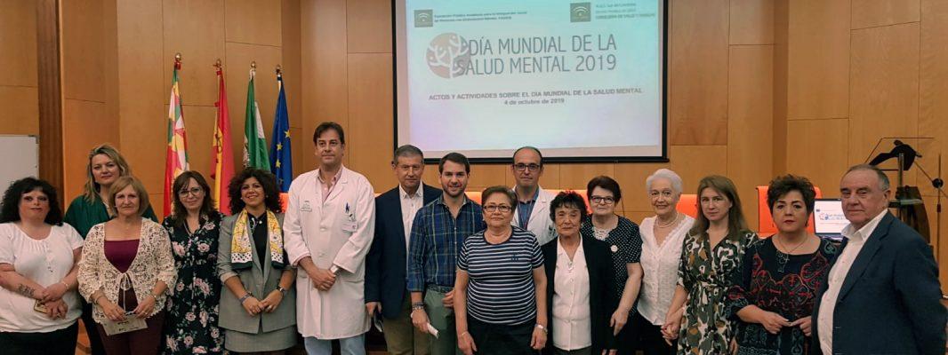 Más de 200 personas asisten a la celebración del Dia Mundial de la Salud Mental en el Área Sanitaria Sur de Córdoba
