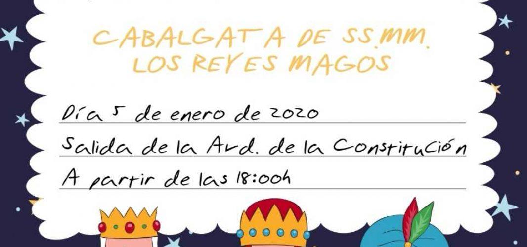 Entrega de cartas a SS.MM. los Reyes Magos