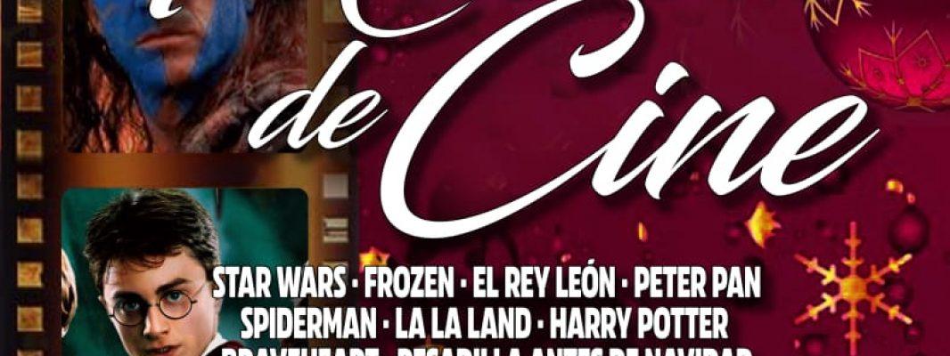 Pascual Marquina vuelve a apostar por el cine y la solidaridad en su concierto de Navidad